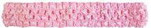 Pink Crochet Headband