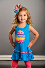 Chevron Egg Dress