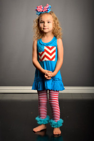 Chevron Flag Dress