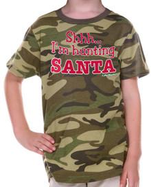 Shhh... I'm Hunting Santa Tee