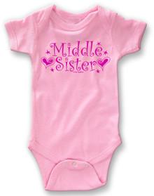Middle Sister Onesie