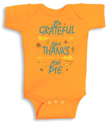 Eat Pie Newborn Onesie