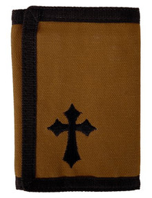 Kerusso Brown Cross Wallet
