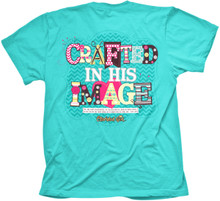 Crafted In His Image Cherished Girl Tee Back
