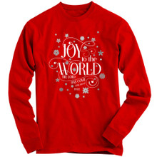Joy To The World Christmas Long Sleeve T-Shirt from Kerusso