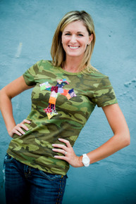 Women's Camo Cross