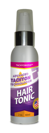 This hair tonic's formula of organic Tachyonized ingredients helps grow new hair, stops thinning, and thickens hair. Many on chemotherapy have been able to keep their hair. Penetrates into the follicles nourishing hair from the root. Stop certain forms of hair loss within 6 to 8 weeks.