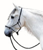 NOTE: The original photo for this horse model was supplier-provided and, if you look closely, is a good example of how NOT to tie the halter knot (please note proper knot tying and halter fitting in the second & third pictures).