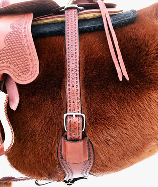 Custom-made to match the Colorado Springs treeless saddle line, but can match many other saddles as well (Cognac shown here with the Memphis saddle)