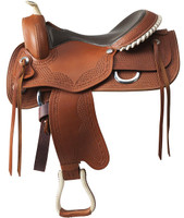"Colorado Springs ""Memphis"" Treeless Saddle"