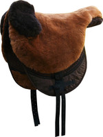 """Macon Extra"" Sheepskin Bareback Pad/Soft Saddle"