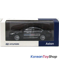 Hyundai Motors Aslan Diecast Metal Mini Car Toy 1/38 Black Genuine