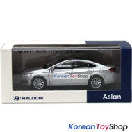 Hyundai Motors Aslan Diecast Metal Mini Car Toy 1/38 Silver Original