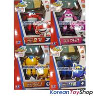 Super Wings Jett Donnie Jerome Dizzy 4 pcs Set Transformer Robot Toy Season 2