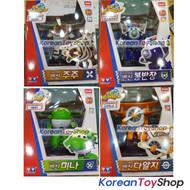 Super Wings Paul Bello Grand Albert Mira 4 pcs Set Transformer Robot Toy Season2
