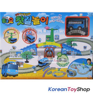 The Little Bus Tayo Moving Tayo Track Toy on Rail Motor Action Kids Creativity