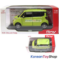 Kia Ray Diecast Metal Mini Car Toy 1:38 Kia Brand Collection Aqua Mint Color