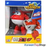 Super Wings HOGI/JETT Transformer Robot Toy Airplane Plane Korean Animation