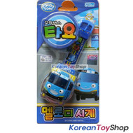 TAYO Melody Watch BLUE Wrist Band Toy w/ Figure Kids Children Korean Ani