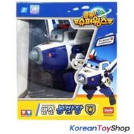 Super Wings BJ BONG / Paul Transformer Robot Toy Police Airplane Plane Korean