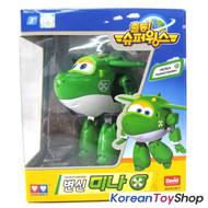 Super Wings MINA / MIRA Transformer Robot Toy Green Airplane Plane Korean Ani