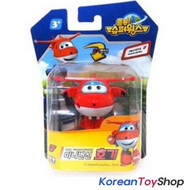 Super Wings Mini Transformer Robot Toy HOGI / Korean Animation Red Airplane