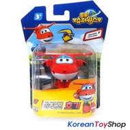 Super Wings Mini Transformer Robot Toy HOGI / Korean Animation Red Airplane
