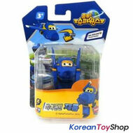 Super Wings Mini Transformer Robot Toy JAROME / Korean Animation BLUE Airplane