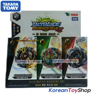 BeyBlade Burst B-90 BeyBlade 3on3 Battle Booster Set 4M.PI H.R Q.Q Tomy Genuine
