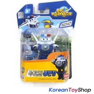Super Wings Mini Transformer Robot Toy BJ. BONG / Paul Korean Animation Police