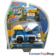 Robocar Poli MICKY Diecast Metal Figure Toy Car Mickey Mixing Truck Academy