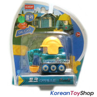 Robocar Poli POKE Diecast Metal Figure Toy Car Excavator Academy Genuine