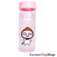 KAKAO Friends APEACH Clear Simple Basic Water Bottle 500ml Tritan Made in Korea