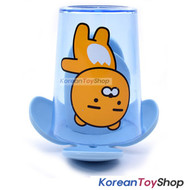 KAKAO Friends RYAN Toothbrush Holder & Cup Set Wall Mount w/ Double Side Tape