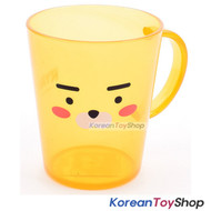 KAKAO Friends RYAN Plastic Cup with Handle Toothbrush Cup 485ml Made in Korea