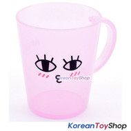 KAKAO Friends APEACH Plastic Cup with Handle Toothbrush Cup 485ml Made in Korea
