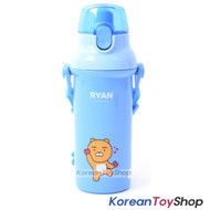 KAKAO Friends RYAN One-touch Shoulder Strap Water Bottle 450ml Original