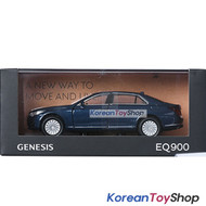 Hyundai Motors Genesis G90 EQ900 Diecast Metal Mini Car Toy 1/38 Blue Genuine