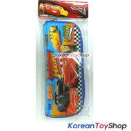 Disney Pixar Cars 3 Character Dining Tool Case with Zipper for Spoon Fork Chopsticks Original