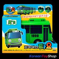 The Little Bus TAYO Main Plastic Diecast Toy Car Original ROGI Model Green Bus