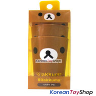 Rilakkuma Cute Plastic 3 pcs Cup Set Kids Children / Made in Korea Original