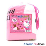 "Hello Kitty Outdoor Beach Picnic Folding Mat w/ Pocket 35 x 24"" Waterproof No.2"