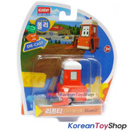 Robocar Poli LIFTY Diecast Metal Figure Toy Car Forklift Academy Original