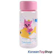 PINKFONG Cute Plastic Eco Water Bottle 380ml Made in Korea BPA Free Original