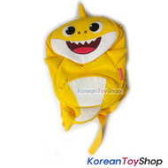PINKFONG Yellow Shark Backpack Bag Baby Kids String for No Missing Baby Original