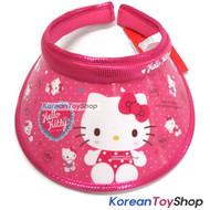 Hello Kitty Visor Hat Sun Cap Kids Girl COLOR DRESS Model Designed by Korea