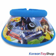 Turning Mecard Visor Hat Sun Cap Kids Boy Designed by Korea Evan Blue