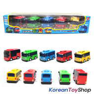 The Little Bus TAYO Bus Wind up Toy C Set(5 Cars-Tayo, Rogi, Gani, Cito, Rani)