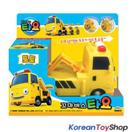 The Little Bus TAYO Diecast Plastic Car - Toto Model Tow Truck Full Back Gear