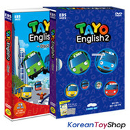 The Little Bus TAYO DVD English Version Series 2 English Audio (Language)